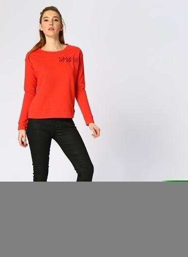 Mustang Sweatshirt Kırmızı